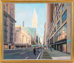 American School 20th Century Three Works New York City