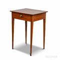 Federalstyle Fruitwood Onedrawer Stand