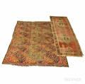 Ersari Carpet and Heriz Runner