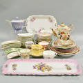 Large Group of Assorted Porcelain Tableware