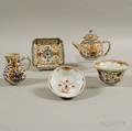 Five Pieces of Imaripalette Porcelain