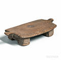 Carved Wooden Chiefs Stool