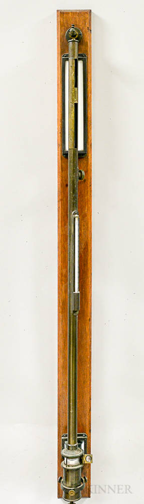 HJ Green New York Observatory Mercury Barometer