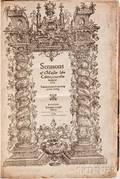 Calvin Jean 15091564 trans Arthur Golding 15361606 Sermons of Maister Iohn Caluin vpon the Booke of Iob
