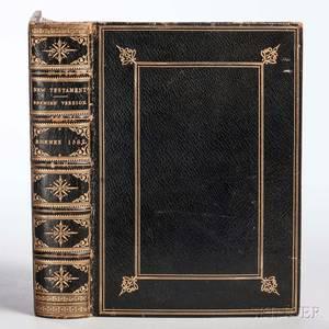 Bible New Testament English DouayRheimsThe Nevv Testament
