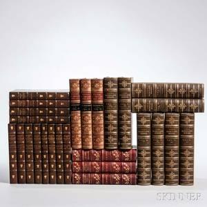 Decorative Bindings Sets Literature Twentysix Volumes