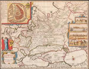 Russia John Speed 15521629 A Map of Russia