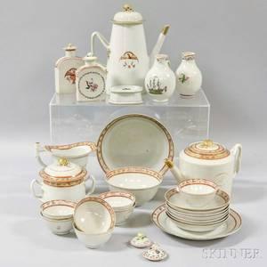 Twentysix Chinese Export Porcelain Tableware Items