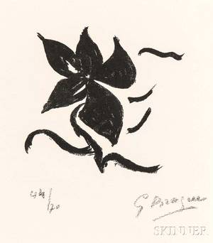 Georges Braque French 18821963 Untitled Page 17
