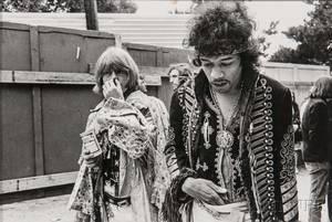 Jim Marshall American 19362010 Jimi Hendrix and Brian Jones Monterey Pop Festival