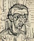 Hans Hofmann GermanAmerican 18801966 Head of a Student