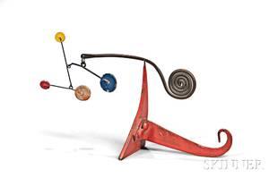 Alexander Calder American 18981976 Untitled Standing Mobile