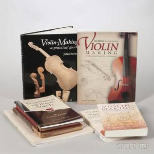 Nine Books on Violins and Violinmaking