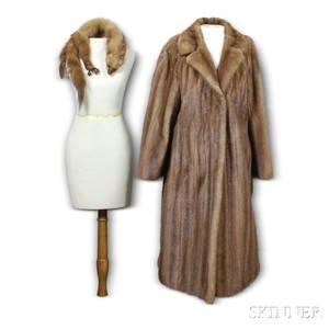 Flemington Mink Fur Coat