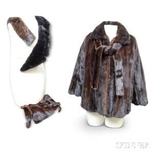 RobertsNeustadter Mink Fur Jacket