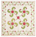 Pennsylvania appliqu princess feather quilt