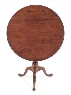 Pennsylvania Queen Anne walnut tea table ca 1770