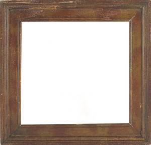 Four Pennsylvania painted pine frames 19th c