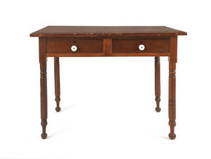 Pennsylvania poplar work table
