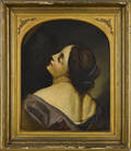 Old Masters style oil on canvas portrait