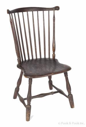 Pennsylvania fanback Windsor chair ca 1790