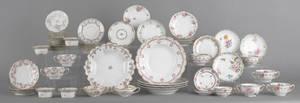 Large collection of Limoges porcelain