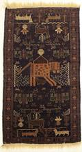 Hand Woven Tribal Rug Throw Rug