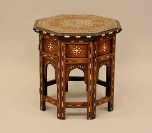 A 20th C Moroccan Occasional Table