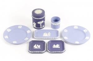 Group of 7 Wedgwood Jasperware Pieces