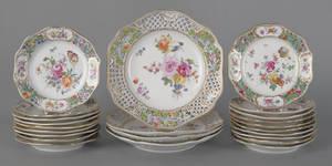 Carl Thieme reticulated porcelain plates