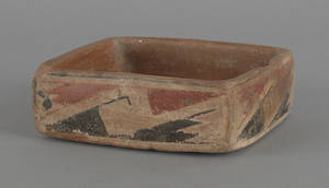 Southwestern Native American Indian pottery tray