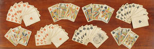 American Manufacture playing cards early 19th c