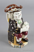 Neale and Co pearlware Toby jug