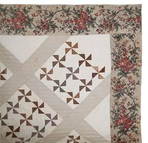 Lancaster County Pennsylvania patchwork quilt