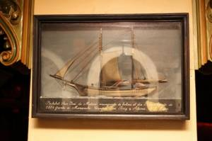 Sailing Ship in Shadow Box