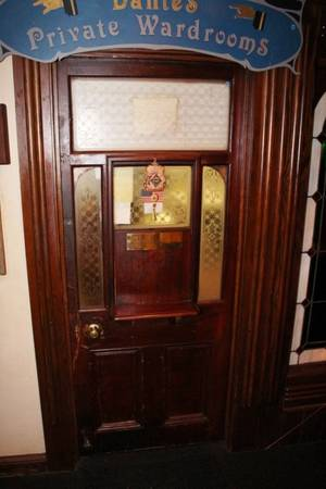 Etched Glass Turn of the Century Door