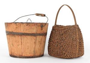 Pine bucket