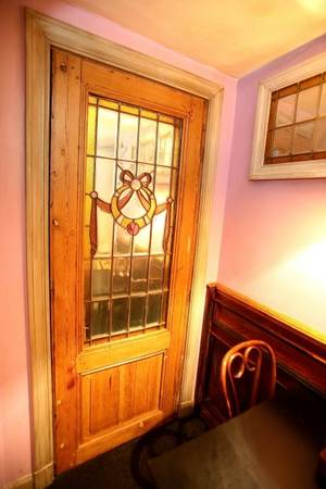 Stained and Beveled Glass Door