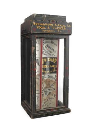 Unusual clockwork advertising trade stimulator