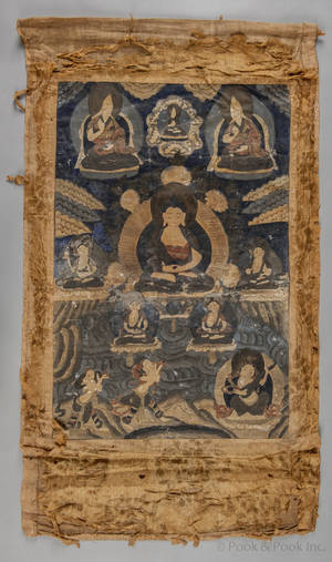 Tibetan thangka 18th19th c