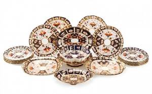 Assembled Group of Imari Porcelain 22 pieces
