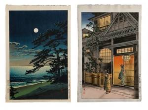2 Japanese Prints Tsuchiya Koitsu Kawase Hasui