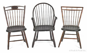 Pennsylvania bowback Windsor armchair