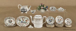 Miniature porcelain tea service