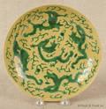 Chinese porcelain dragon bowl with Kangxi mark