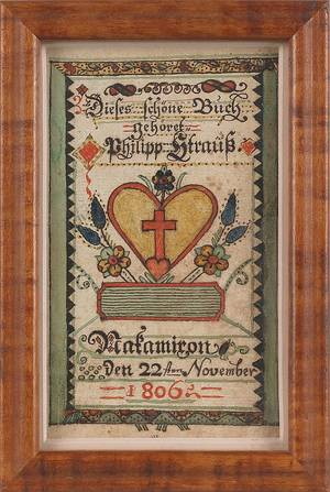 Johannes Mayer Bucks County Pennsylvania active 17691812