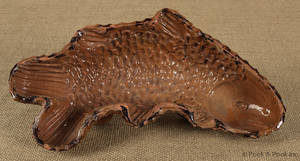 Pennsylvania redware fish mold