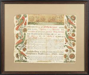 Johann Henrich Otto Southeastern Pennsylvania active 17621797