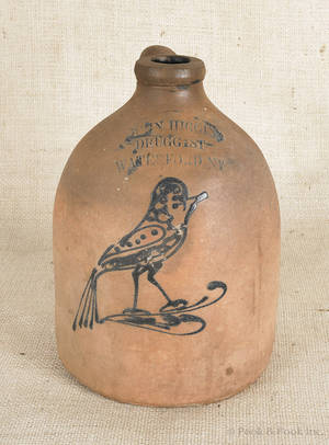 Small New York stoneware jug 19th c