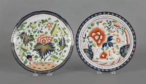 Two Gaudy Dutch plates